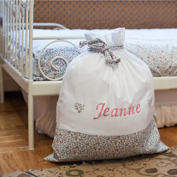 Sac linge de jeanne saphire b b couture for Le linge de jeanne housse de couette