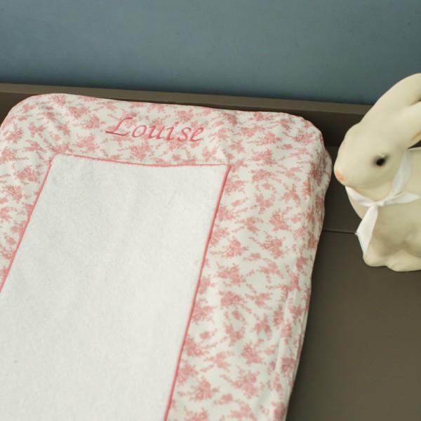 housse de matelas langer de louise saphire b b couture. Black Bedroom Furniture Sets. Home Design Ideas