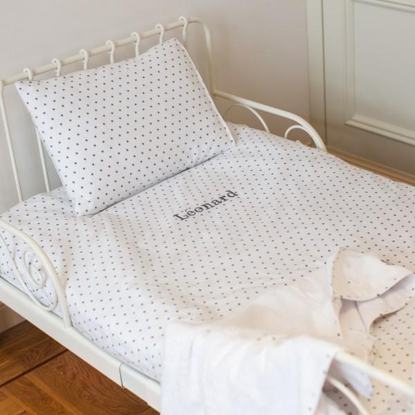 parure de lit de leonard lit une personne saphire b b. Black Bedroom Furniture Sets. Home Design Ideas